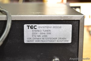 TEC SYSTEM 2002 STEREO TUNER (11)