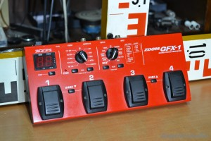 Zoom GFX 1 Guitar Effects Processor (9)