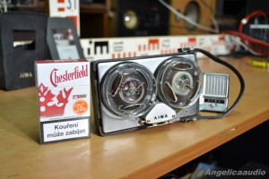 AIWA TP 61 R Mini Portable Reel to Reel Recorder