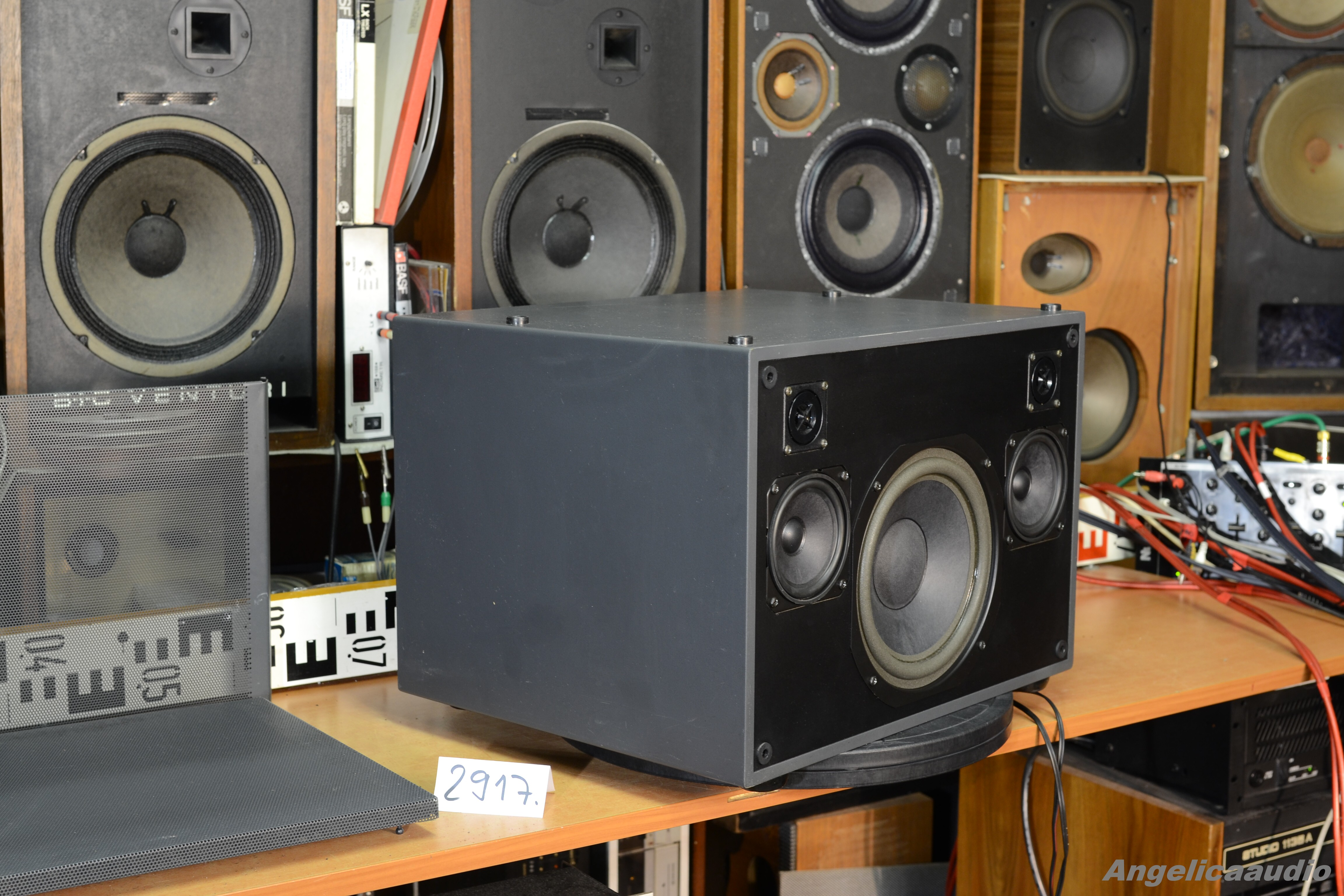 LOEWE Concept Sound Box Passiv STEREO (17 KG), W Germany (No