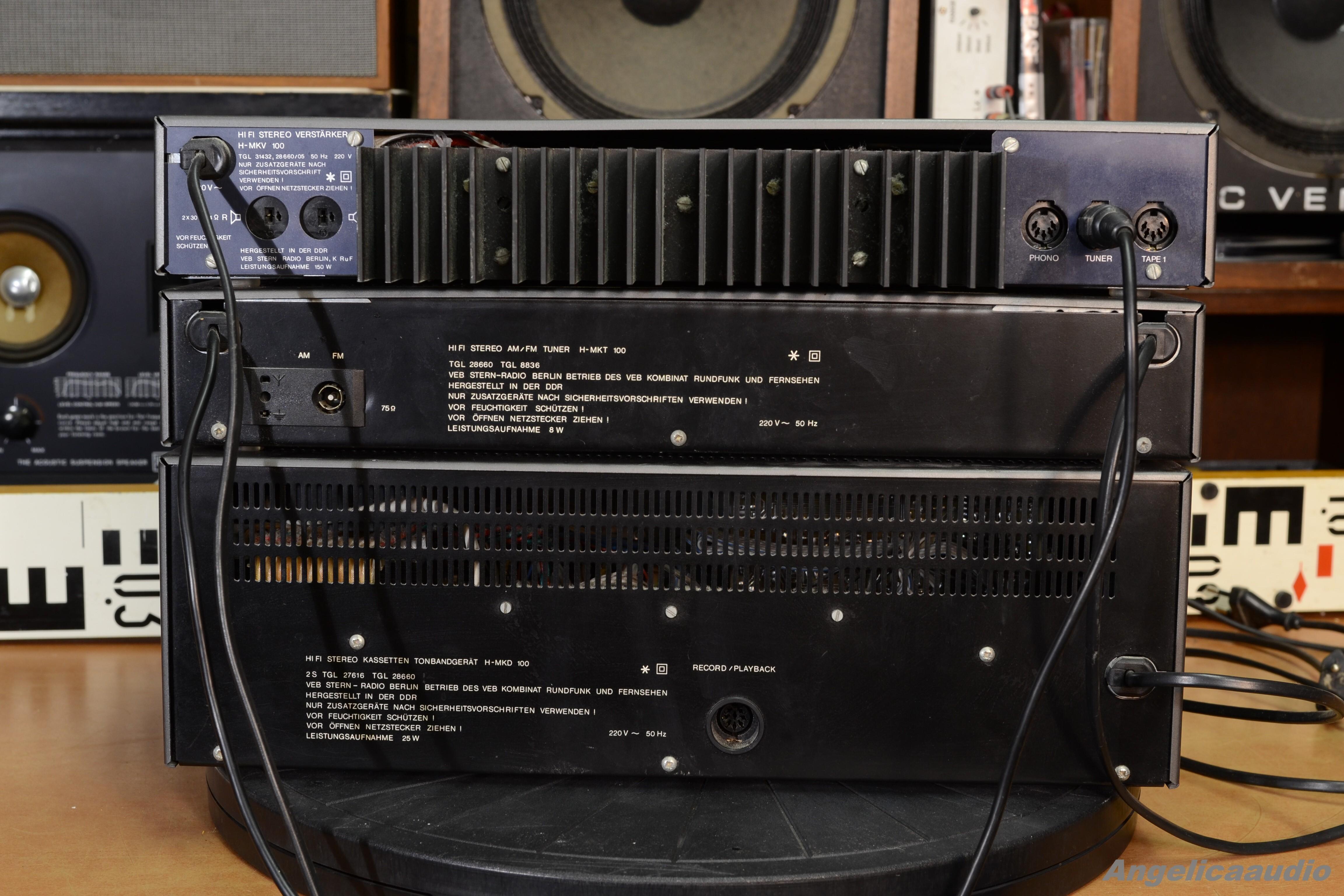 NOS DDR NF-Verstärker 2x A 210 E RFT