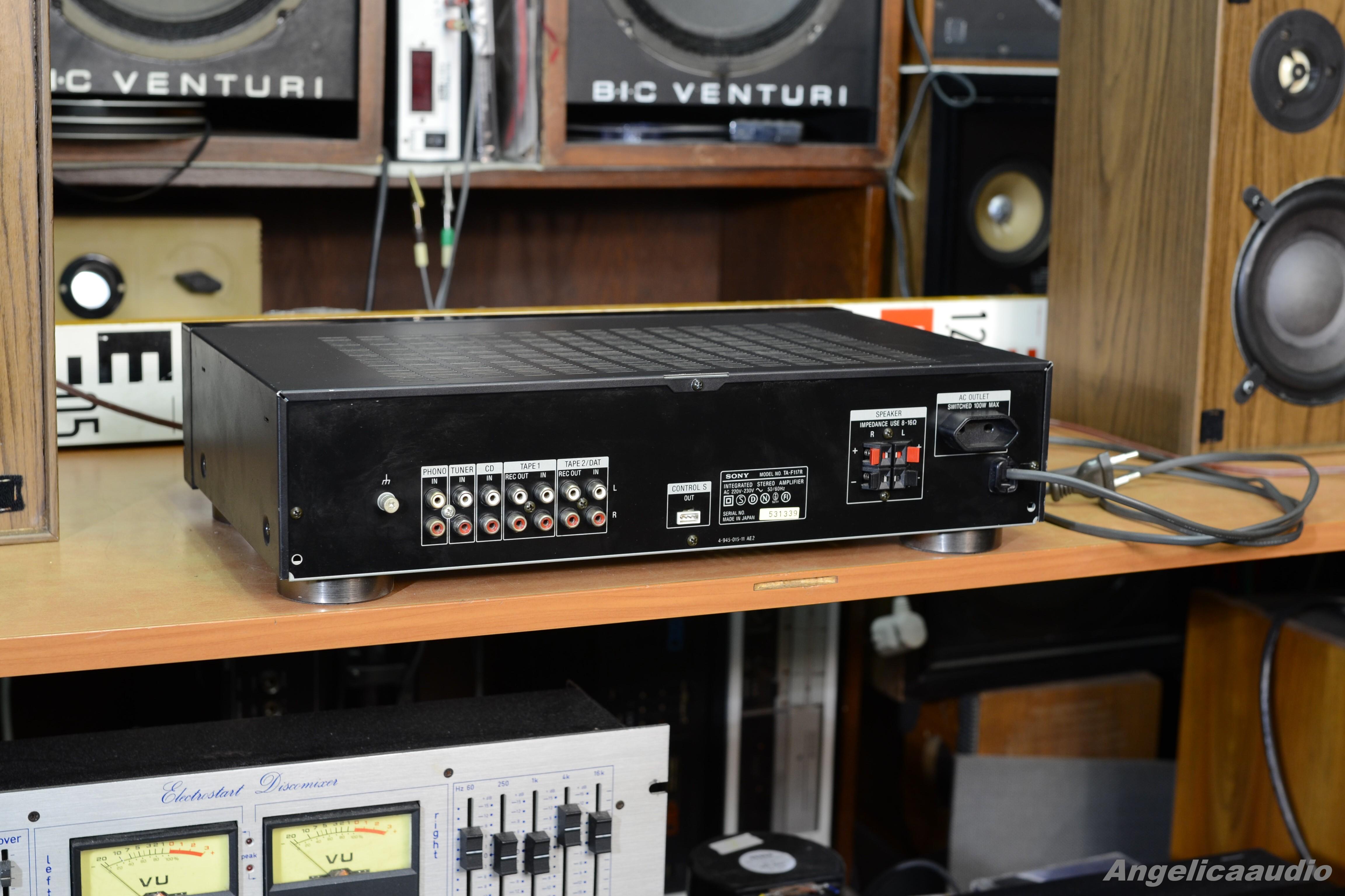 SONY TA-F117R stereo amplifier Japan 1991-1992