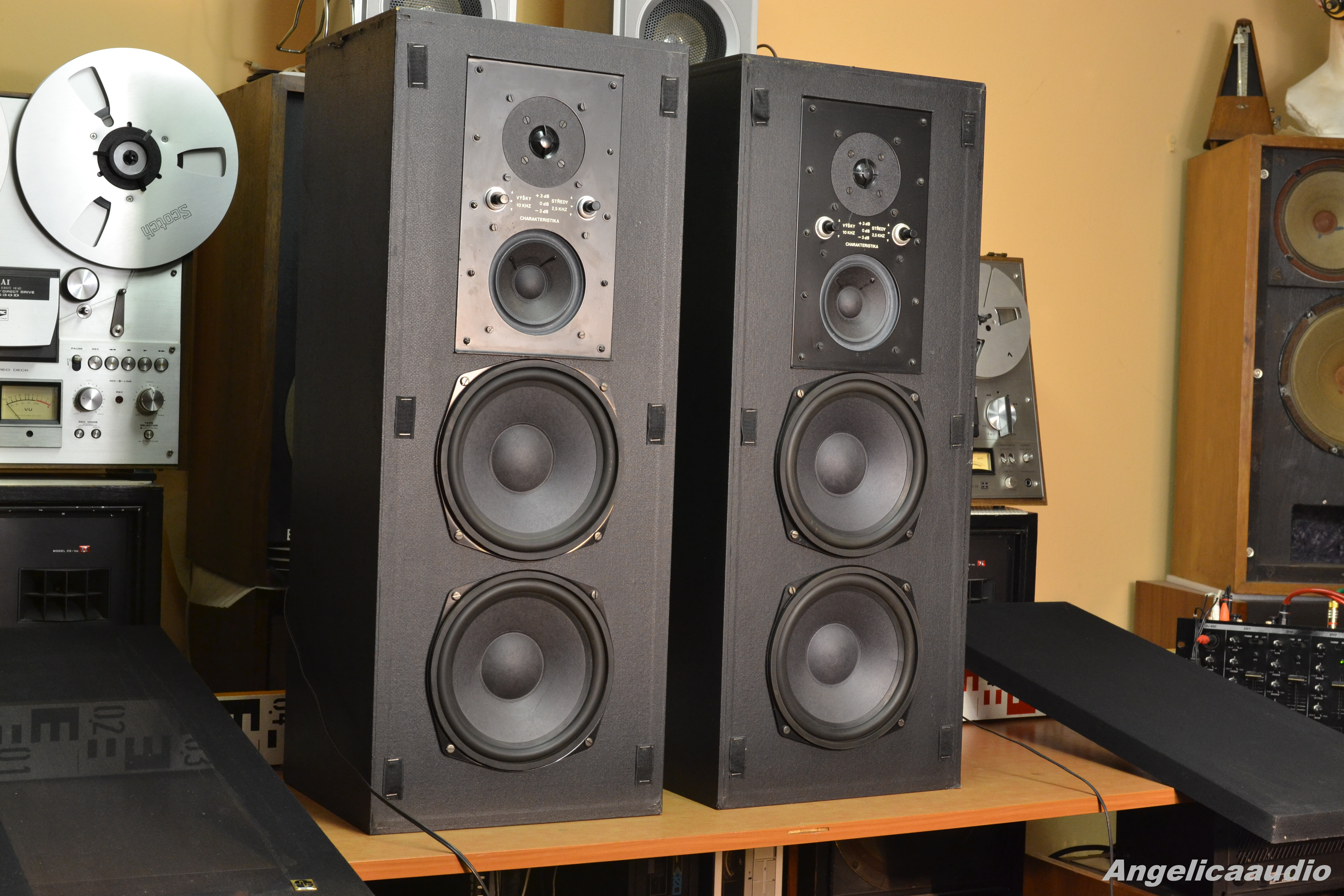RS 538 Elektronika Praha « Angelicaaudio 1990 5b0d1e6c893