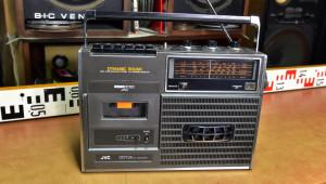 JVC 9408LS Radio Cassette Recorder