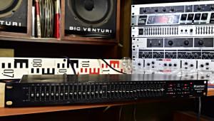 Omnitronic PEQ 215 Equalizer Stereo