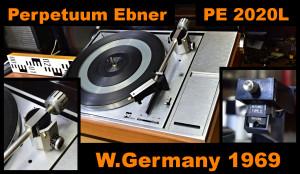 Perpetuum Ebner PE 2020L Automatic Turntable