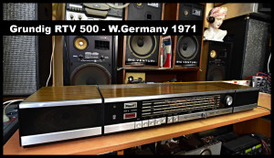 Grundig RTV 500 Grundig Box 39 youtube text borders