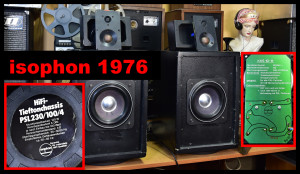 Isophon DIY speakers PSL 230