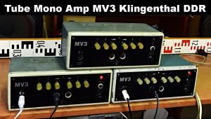 MV3 Vacuum Tube Amplifier Klingenthal Text