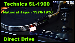 Technics SL 1900 YouTube 111 Hotovo 2