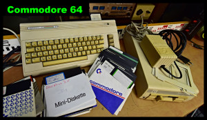 Počítač Commodore 64 canvas youTube hotovo