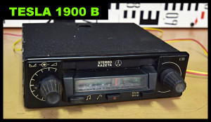 Tesla 1900 B autoradio YOUTUBE