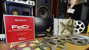 magnetofonové cívky a pásky