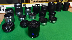 sony sample lenses