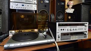 Gramofon Tesla MC 600Q (176880) - Receiver Tesla 820A (176881) - Magnetofon Tesla SM 261 (176882)