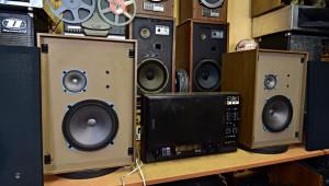 Tesla B73 stereo kotoučový magnetofon (176926) Tesla ARS 938 reprosoustavy (176925)