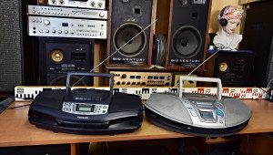 Panasonic RX-ES20 (177000) Panasonic RX-DS18 (177001) radio CD cassette recorder Boombox Ghettoblaster