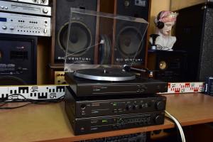 RFT HiFi Set RFT SV 3935 Zesilovač MDA 2020, ST 3930 Tuner, SP 3930 Gramofon (177066)