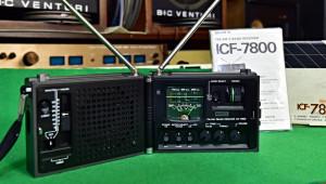 SONY ICF-7800 Newscaster Receiver Radio - Japan 1976 (177054)