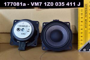 Reproduktory Škoda Auto Fabia Octavia Superb Yeti Roomster - výškové - středové - basový