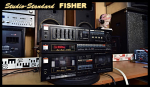 Studio-Standard By FISHER Amplifier FISHER CA-138 Tuner FM-158 Cassette Deck CR-W134 (177092) - Cena celá sestava 999,- Kč.