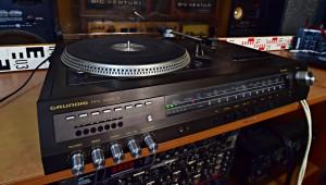 GRUNDIG RPC 2000-2 Hudební studio - gramofon Grundig Auto Return 740 (177084)