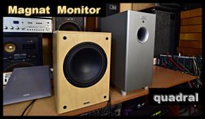 Magnat Monitor SUB 200A Active (177098) Quadral SUB 48 Aktiv Subwoofer (177099)