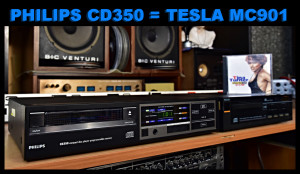 TESLA MC901 (PHILIPS CD350) CD přehrávač (177097) - PHILIPS CD150 (177096)