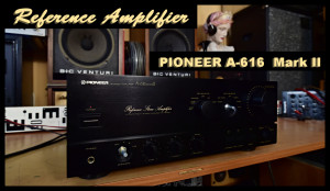 PIONEER A-616 Mark II Reference Stereo Amplifier Japan - Zesilovač 14kg (177095)
