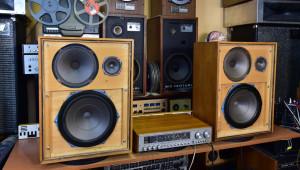 Tesla SP 201 - 810 A stereo receiver (177071) - Tesla 1PF 067 08 reprosoustavy (177072)