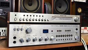 UNITRA RADMOR 5102-TE stereo receiver (176676), Tuner AM RADMOR 5122 (176677)