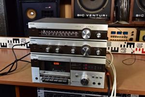 SIEMENS RH 111 Tuner - SIEMENS RV 111 Amplifier - SIEMENS RC 111 Cassette Deck (177228-178230)
