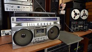 SHARP GF-8787 Radio Cassette Recorder (177231)