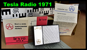 Tesla IN 70 Typ 2715 B Radio 1971 (177258)