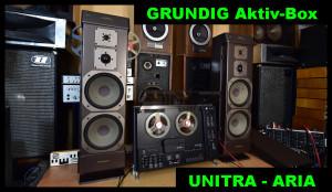 GRUNDIG AKTIV-BOX XSM 2000 (177260) UNITRA ARIA - HGS M-2408 (177261)