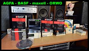 AGFA - BASF - maxell - 18cm (177262-177289)
