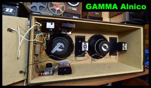 GAMMA HiFi LA 1231 Alnico Magnet Speakers Sweden GAMMA HiFi VLD-13 Horn Ribbon Lautsprecher (177308)