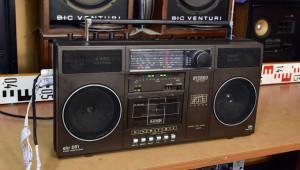 RFT skr 551 stereo cassette radio - radiomagnetofon (177329)