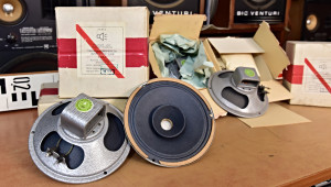 2ГД-3 Širokopásmové reproduktory 2GD-3 Vintage Soviet fullrange speakers Breitbandlautsprecher (177344-9)