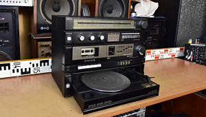 TOSHIBA SL-10K HiFi Věž s gramofonem - Stereo Sound System Japan - Přenoska Dual DN 239 (177336)