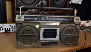 SHARP GF-4646 Radio Cassette Recorder - Radiomagnetofon OIRT (177384)