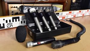 Mikrofon Tesla AMD 411 N - AMD 530 L - další mikrofony a držáky na mikrofony 177537-177542