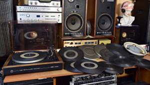 Hlavní talíře a gumové talíře - gramofony Tesla (177595-177616)