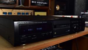 KENWOOD stereo minidisc MD recorder DMF-3020 (177724)