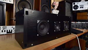 DIY Centrální Reprosoustava - Center Speaker for Home Theater Cinema - Reproduktor Tesla TVM ARN-100-60/4 TVM ARV-089-00/8 (177797)