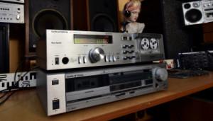 GRUNDIG CF 5000-2 Cassette Deck (177844) - GRUNDIG CF 7400 Cassette Deck (177845) Kazetové magnetofony