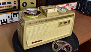 Diola Batterie Wien - HORNYPHON WM4100BT/00 (PHILIPS EL 3585) přenosný magnetofon na baterie (177828)