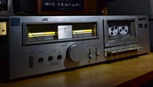 JVC KD-A11 Cassette Deck Kazetový Magnetofon Japonsko rok 1980 (177841)