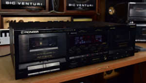 PIONEER CT-W720R Cassette Deck - Kazetový Magnetofon Japonsko (177840)
