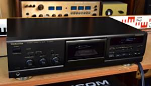 Technics RS-BX501 Stereo Cassette Deck - Tape Deck - Kazetový Magnetofon Japonsko (177832)